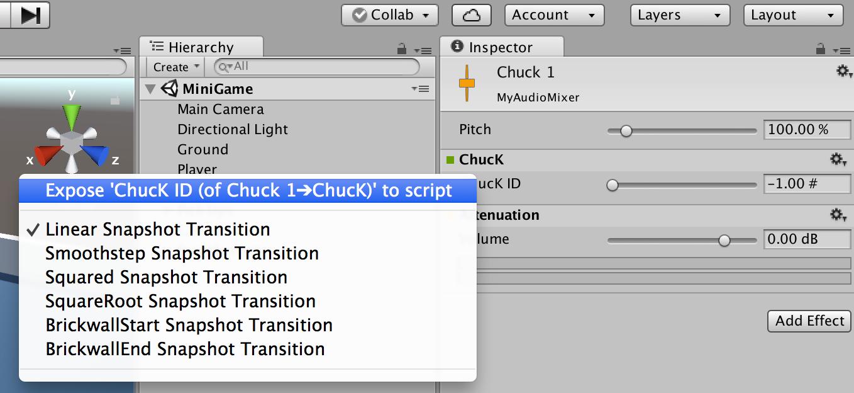 ChucK - [Unity: Tutorials]
